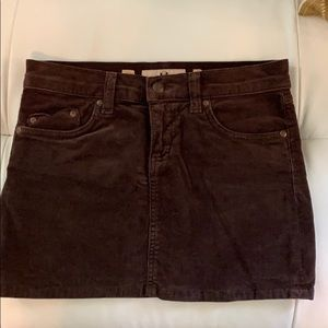 Juicy Couture Jeans Corduroy Mini Skirts